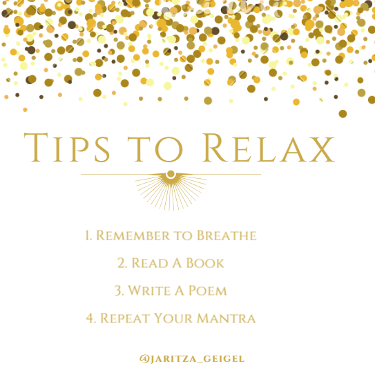 5 Tips to Relax